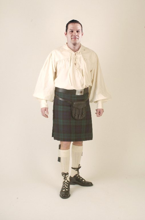 Casual Kilt Outfit Rental