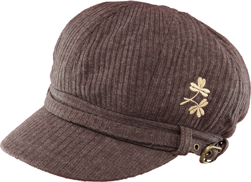 Shamrocks Newsboy Hat