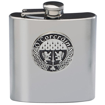 Irish Family Names Flask