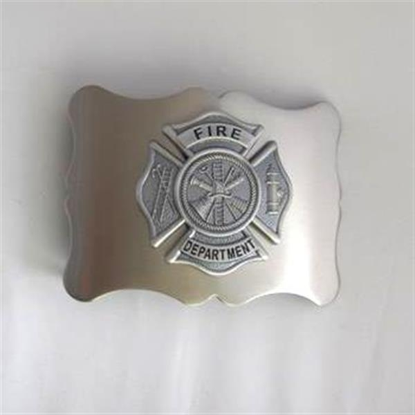 Fire Department Kilt Belt Buckle - Antique