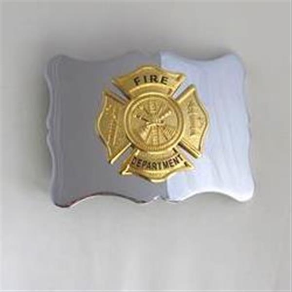 Fire Department Kilt Belt Buckle - Gold