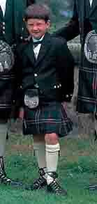 Childs kilt outfit