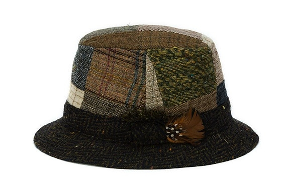 Walking Hat Patchwork Toned