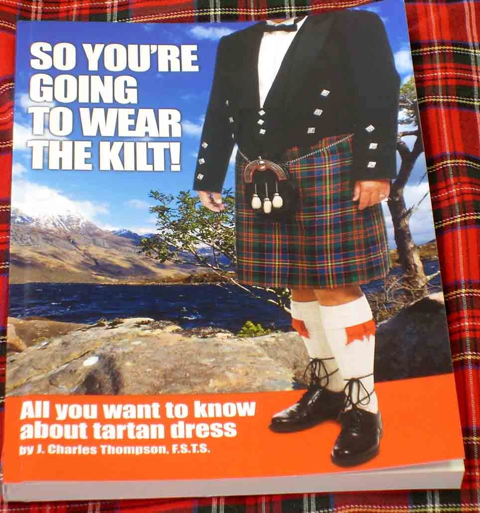 So, your going to wear the Kilt Book