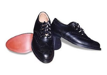 Leather Sole Ghillie Brogue Shoes