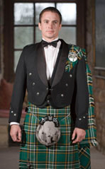 Formal Prince Charlie Jacket and Kilt outfit
