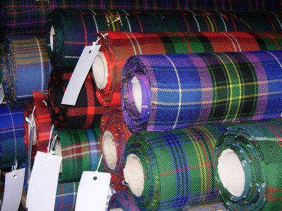 Scottish Tartan Fabric