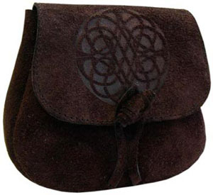 Leather Druid's Pouch - Infinity