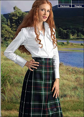 Wonderful The Ladies Mini Kilt Kilted Skirt Is A Fashionable Modern Day