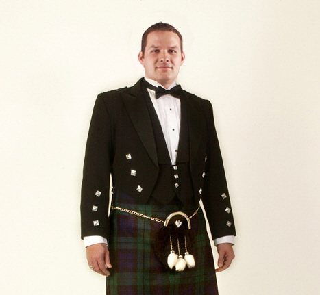 Prince Charlie Jacket and Sporran Rental