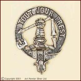 Scottish Clan Crest cap badge