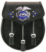 Police Leather Sporran