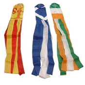 Scottish or Irish Flag Windsocks