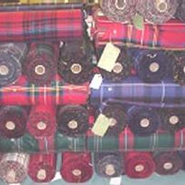 Ingles Buchan wool tartan fabric : The Scotland Yard Store