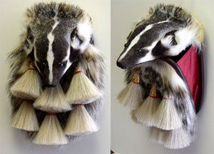 Military Badger Full Mask Sporran